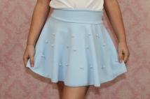 skirt light blue