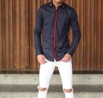 shirt bkue