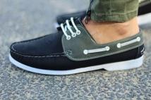 shoes black khaki