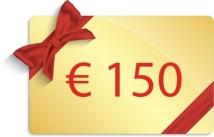 Gift voucher 150€