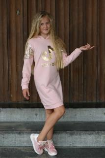 dress pink tiktok gold