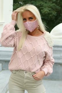 mask pink pajet