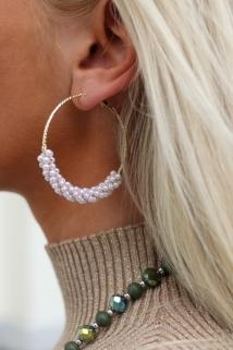 earings bronze peirle