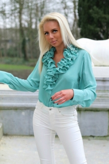 blouse mintgreen