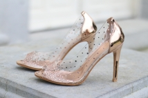 heels champagne