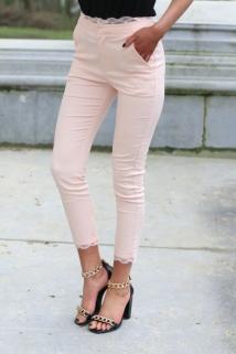 classic pants pink