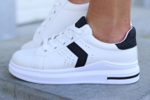sneacker white/black