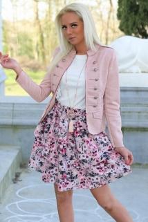 blazer botton pink