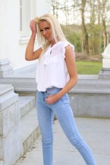 top blouse white