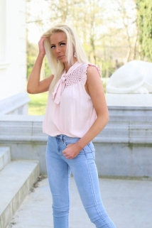 top blouse pink
