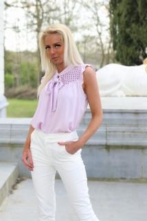 top blouse lila