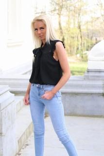 top/blouse black