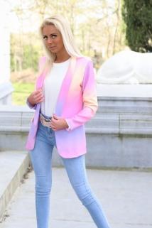 blazer lila / pink rainbow