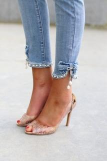 jeans strass strik