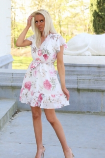 dress white multi