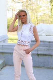 croptop blanc dentail