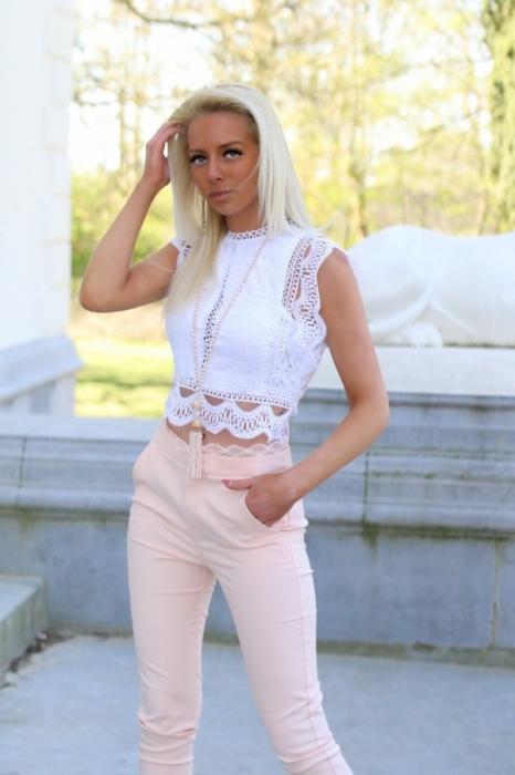 croptop white