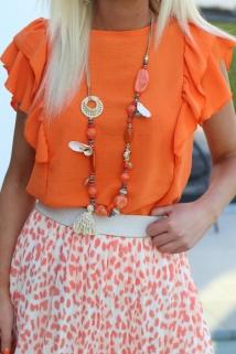 neckless orange