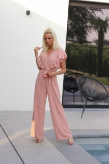 jumpsuit simply pink