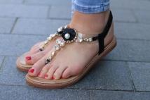 sandales black