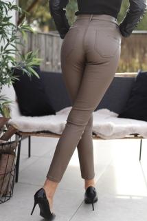 pants brown laiderlook toxik