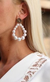 earings peirle / gold