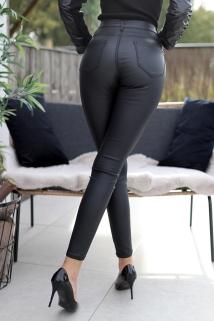 Pants black laiderlook skinny denim