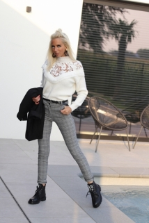Classic pants grey caro
