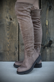 Long boots Taupe