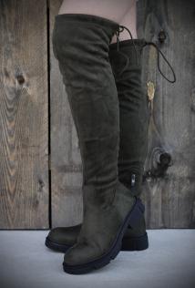 Long Boots khaki