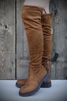 Long Boots Camel