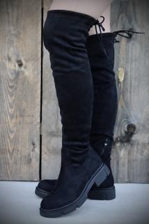 Long Boots Black