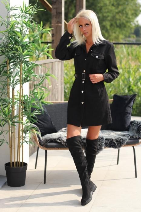 dress black / den