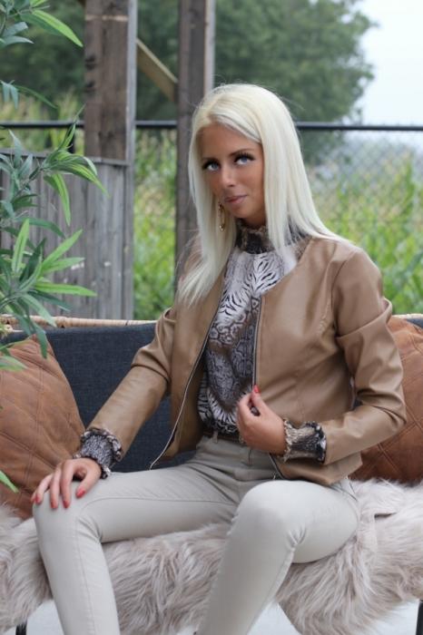 blouse creme / multi