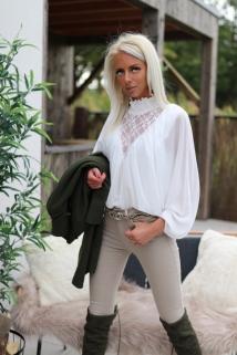 blouse white / k