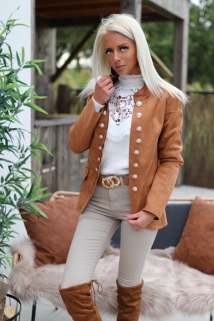Jacket Camel Botton