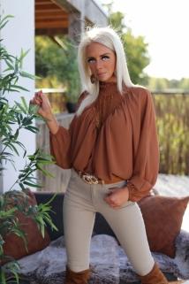 Blouse Camel