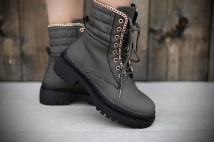 Boots Khaki gold
