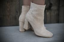 Boots heels creme