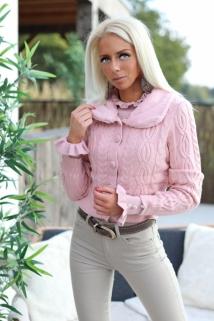 gilletpul pink fake fur