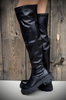 Long boots black laiderlook